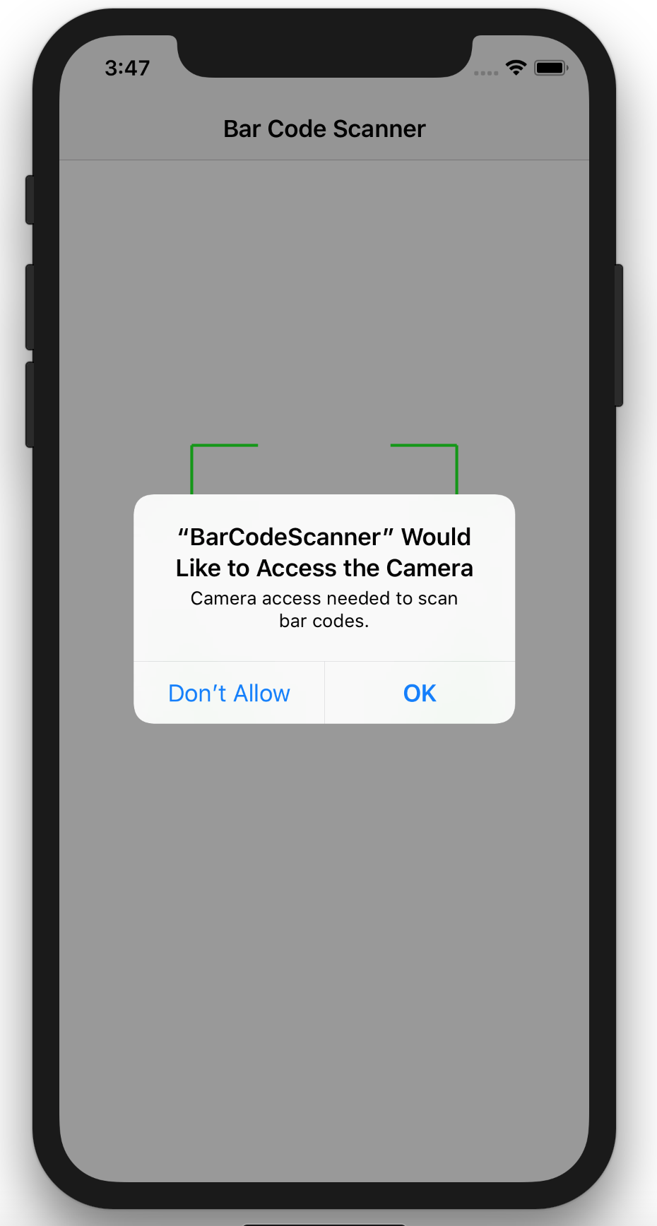 Native Bar Code Scanning in iOS