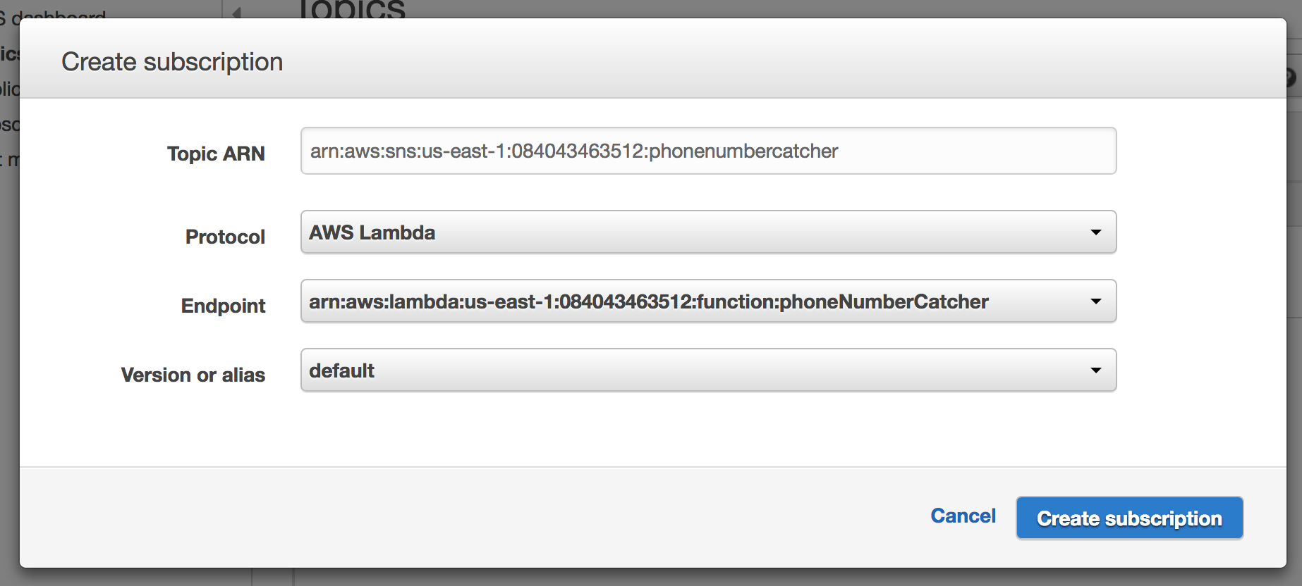 Capturing Mobile Phone Numbers